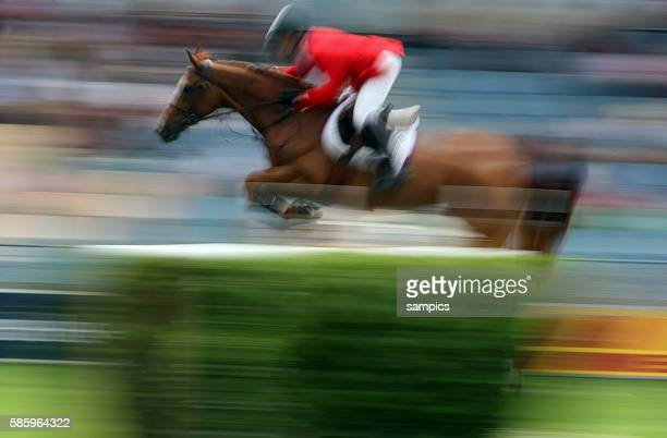 McLain Ward on Rothschild during the show jumping Stawag Cup at the World Festival CHIO Aachen 2009