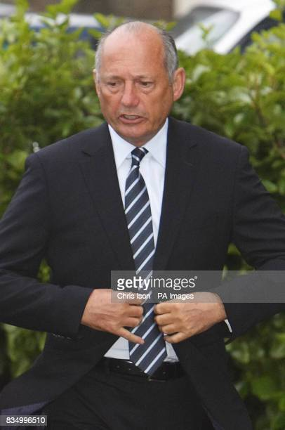 McLaren Formula One boss Ron Dennis arrives at Duke's Keep in Southampton to give evidence at an employment tribunal where his former employee Peter...