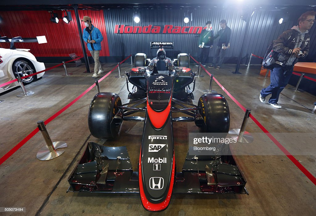 Vehicles On Show At The Tokyo Auto Salon Getty Images