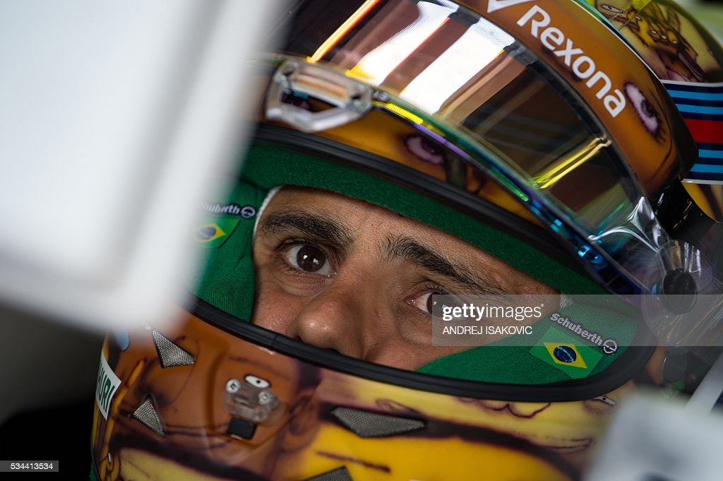 McLaren Honda's Spanish driver Fernando Alonso sits in his car during the first practice session at the Monaco street circuit, on May 26, 2016 in Monaco, three days ahead of the Monaco Formula 1 Grand Prix. / AFP / ANDREJ