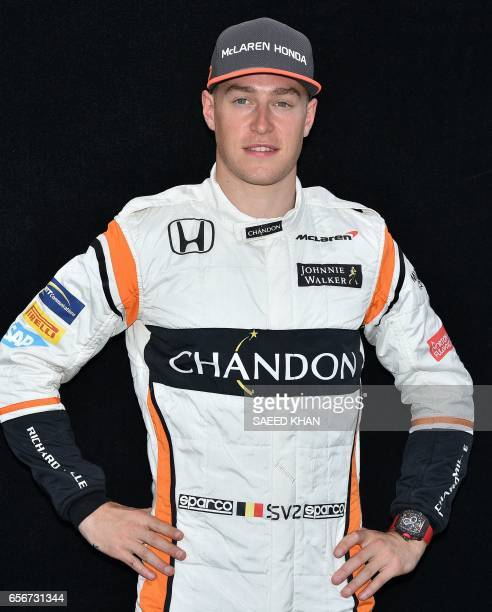 McLaren's Belgian driver Stoffel Vandoorne poses for a photo in Melbourne on March 23 ahead of the Formula One Australian Grand Prix Vandoorne / AFP...
