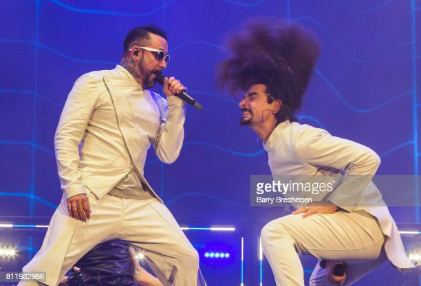 McLean and Kevin Richardson of the Backstreet Boys perform during the 2017 Festival d'ete de Quebec on July 9 2017 in Quebec City Canada