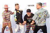 "Members Of NSYNC And Backstreet Boys Host ""Bingo Under..."
