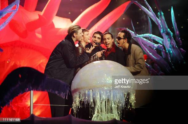 AJ McLean Brian Littrell Howie Dorough Nick Carter and Kevin Richardson of the Backstreet Boys