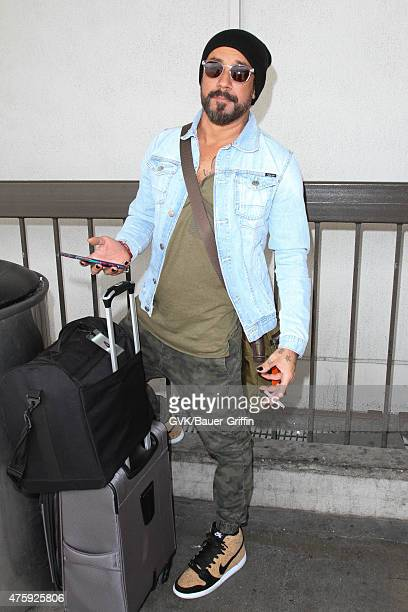 McLean is seen at LAX on June 04 2015 in Los Angeles California