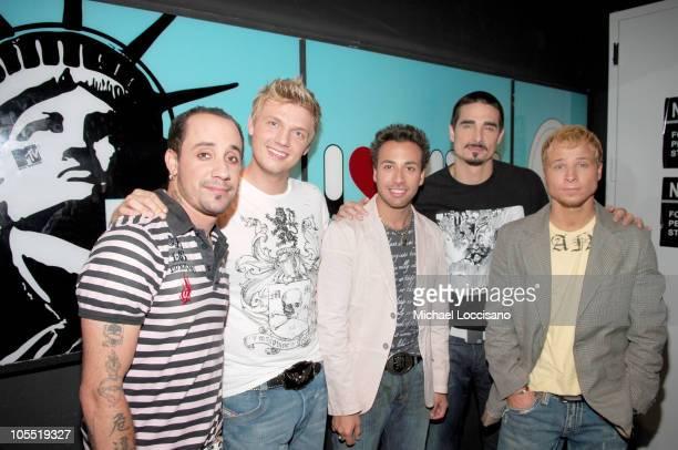 AJ McLean Nick Carter Howie Dorough Kevin Richardson and Brian Littrell of Backstreet Boys