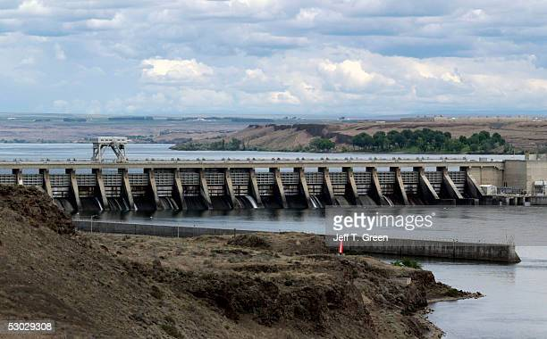 McNary Lock and Dam on the Columbia River is seen June 6 2005 near Umatilla Oregon In late May 2005 a federal judge in Portland Oregon rejected the...