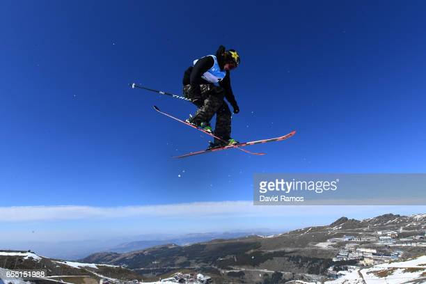 Mcrae Williams of the United States competes in the Men's Slopestyle final during day twelve of the FIS Freestyle Ski Snowboard World Championships...