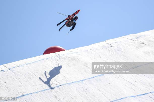 Mcrae Williams of USA wins the gold medal during the FIS Freestyle Ski Snowboard World Championships Slopestyle on March 19 2017 in Sierra Nevada...