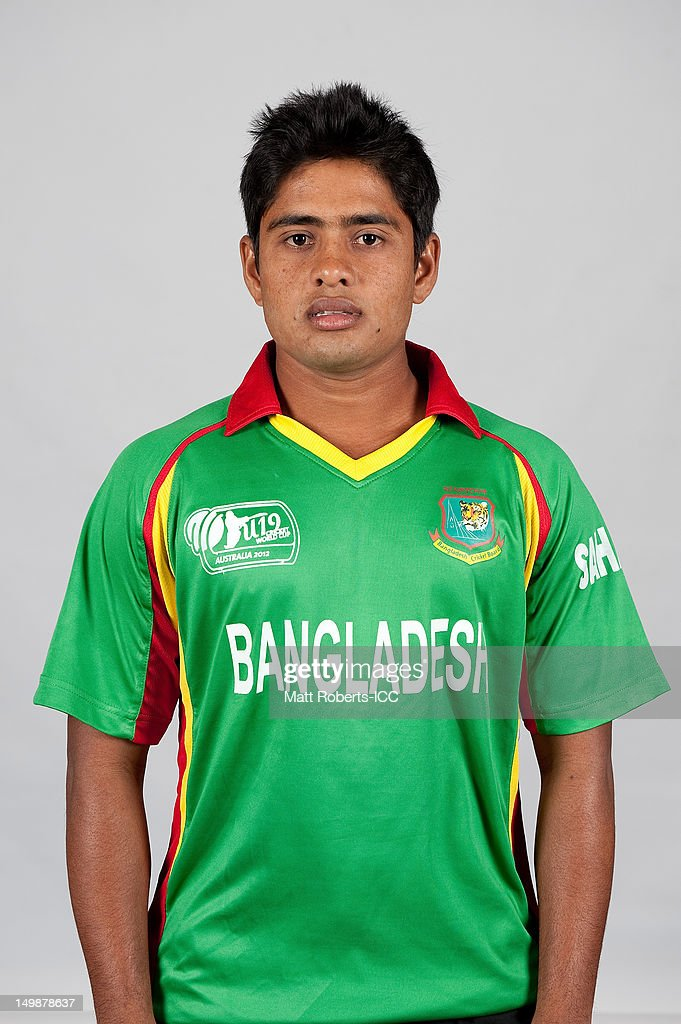 Md. Ala Amin of Bangladesh poses during a ICC U19 Cricket World Cup 2012 portrait session at Allan Border Field on August 6, 2012 in Brisbane, Australia.