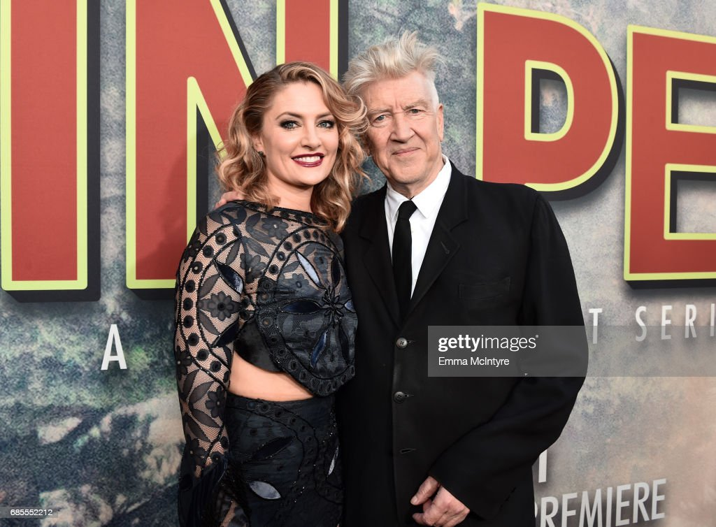 Mädchen Amick (L) and David Lynch attend the premiere of Showtime's 'Twin Peaks' at The Theatre at Ace Hotel on May 19, 2017 in Los Angeles, California.