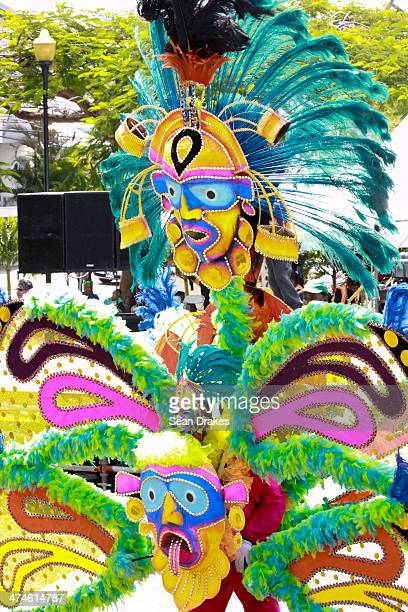 MDenzilPatrick Jennings portrays 'Junkanoo Jamboree' at Junior Kings and Queens compeition as part of Junior Panorama on Sunday February 23 2014 in...