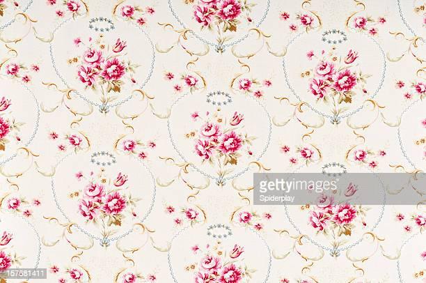 Meadow Rose mittlere alte mit Blumenmuster