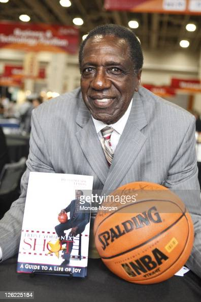 Meadowlark Lemon visits the Author's Pavilion during the 2011 Congressional Black Caucus at the Washington Convention Center on September 22 2011 in...