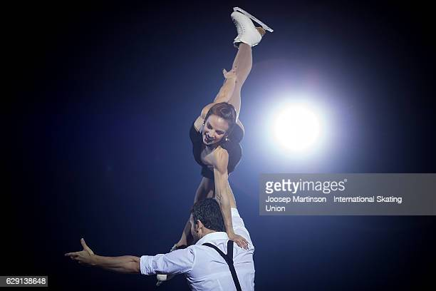 Meagan Duhamel and Eric Radford of Canada perform during Gala Exhibition on day four of the ISU Junior and Senior Grand Prix of Figure Skating Final...