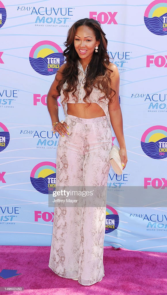 Meagan Good arrives at the 2012 Teen Choice Awards at Gibson Amphitheatre on July 22, 2012 in Universal City, California.