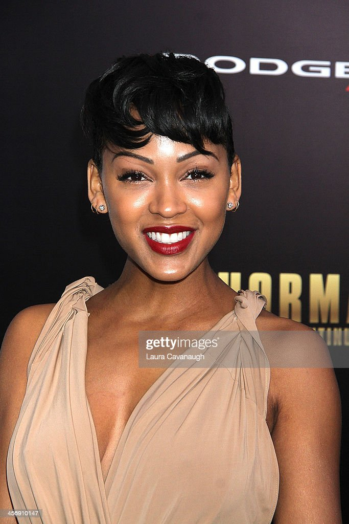 <a gi-track='captionPersonalityLinkClicked' href=/galleries/search?phrase=Meagan+Good&family=editorial&specificpeople=171680 ng-click='$event.stopPropagation()'>Meagan Good</a> attends the 'Anchorman 2: The Legend Continues' U.S. premiere at Beacon Theatre on December 15, 2013 in New York City.
