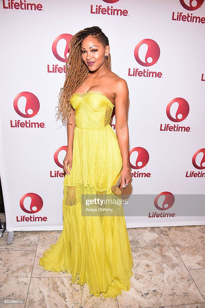Meagan Good attends the screening and panel for Lifetime's 'Love By The 10th Date' at The London West Hollywood at Beverly Hills on January 23, 2017 in West Hollywood, California.
