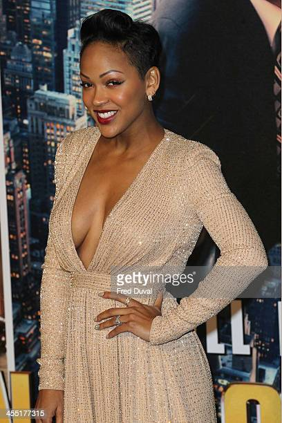 Meagan Good attends the UK film premiere of 'Anchorman 2 The Legend Continues' at Vue West End on December 11 2013 in London England