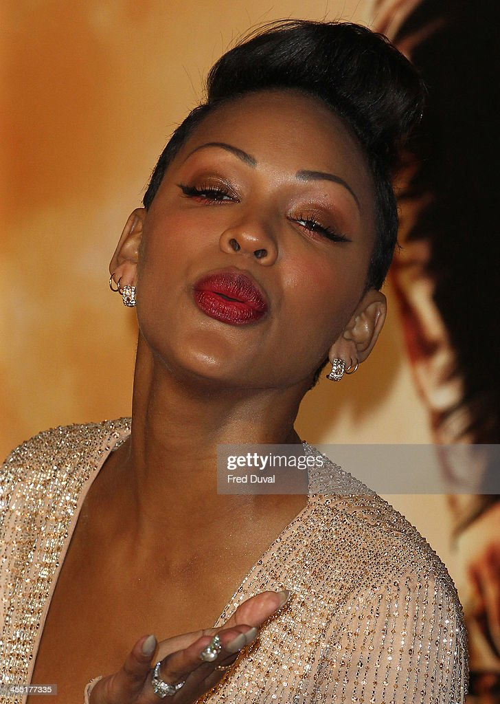 <a gi-track='captionPersonalityLinkClicked' href=/galleries/search?phrase=Meagan+Good&family=editorial&specificpeople=171680 ng-click='$event.stopPropagation()'>Meagan Good</a> attends the UK film premiere of 'Anchorman 2: The Legend Continues' at Vue West End on December 11, 2013 in London, England.