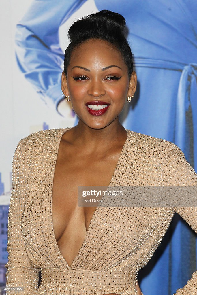 Meagan Good attends the UK film premiere of 'Anchorman 2: The Legend Continues' at Vue West End on December 11, 2013 in London, England.