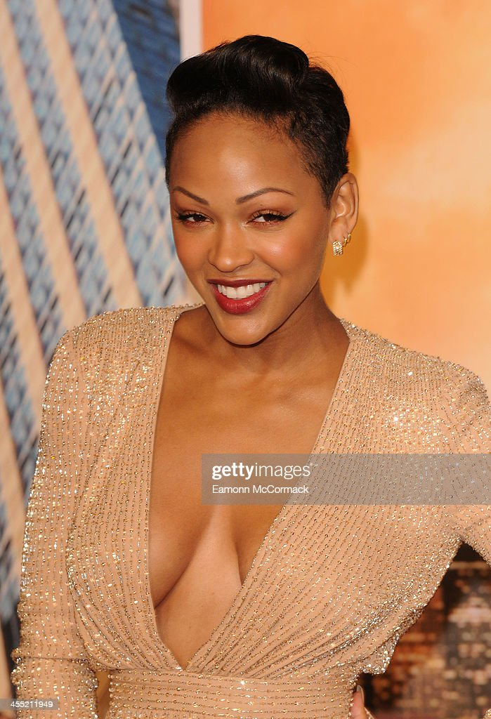 <a gi-track='captionPersonalityLinkClicked' href=/galleries/search?phrase=Meagan+Good&family=editorial&specificpeople=171680 ng-click='$event.stopPropagation()'>Meagan Good</a> attends the UK premiere of 'Anchorman 2: The Legend Continues' at Vue West End on December 11, 2013 in London, England.