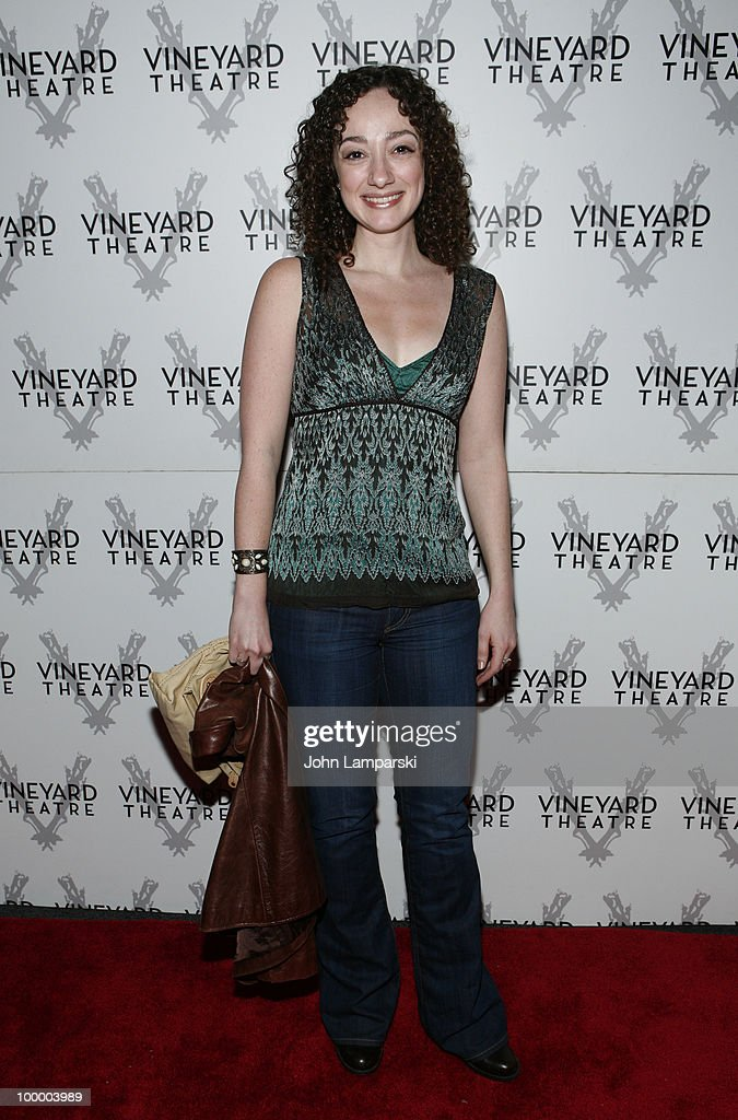 Meagan McGuinnis attends the opening night of 'The Metal Children' at the Vineyard Theatre on May 19, 2010 in New York City.