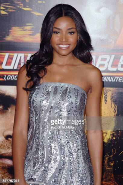 Meagan Tandy attends UNSTOPPABLE World Premiere at Regency Village Theatre on October 26 2010 in Westwood California