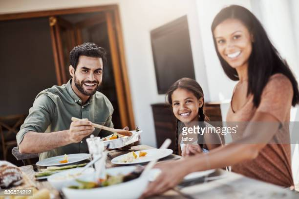 Essen ist Zeit für die Familie