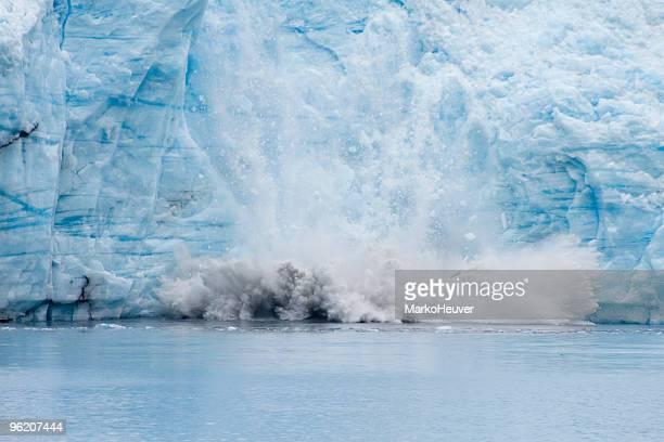 Meares Glacier Calving