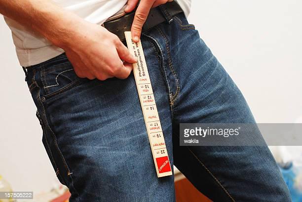 Messung des penis-Schwanzlänge