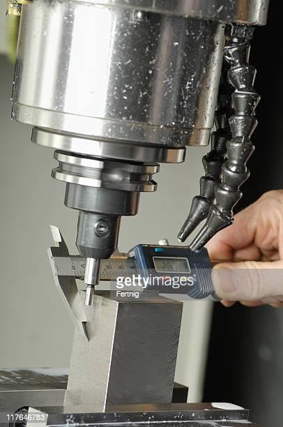 Messen Stahl vor machining