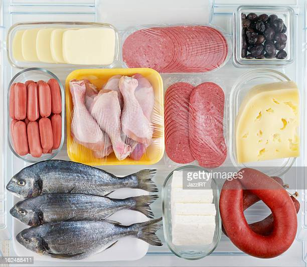 Meat and dairy products