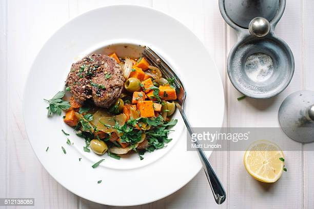 Meat and vegetable dish