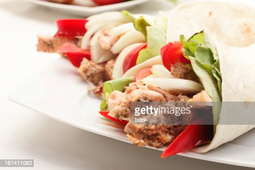 Meat and vegetables : Stock Photo