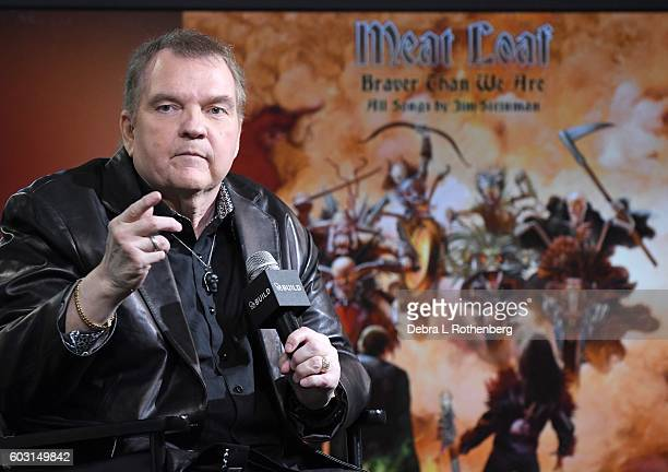 Meat Loaf at The BUILD Series Presents Meat Loaf Discussing His Thirteenth Album 'Braver Than We Are' at AOL HQ on September 12 2016 in New York City