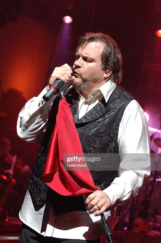 Meat Loaf during Meat Loaf's 'Bat Out of Hell' on Broadway Comes to the Palace Theater at The Palace Theater in New York City, New York, United States.
