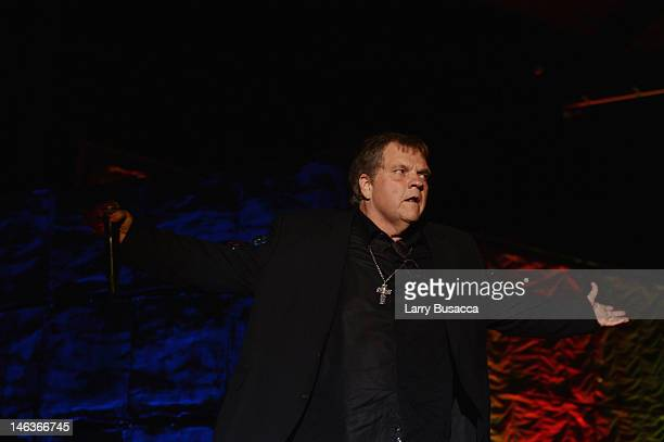 Meat Loaf performs onstage at the Songwriters Hall of Fame 43rd Annual induction and awards at The New York Marriott Marquis on June 14 2012 in New...