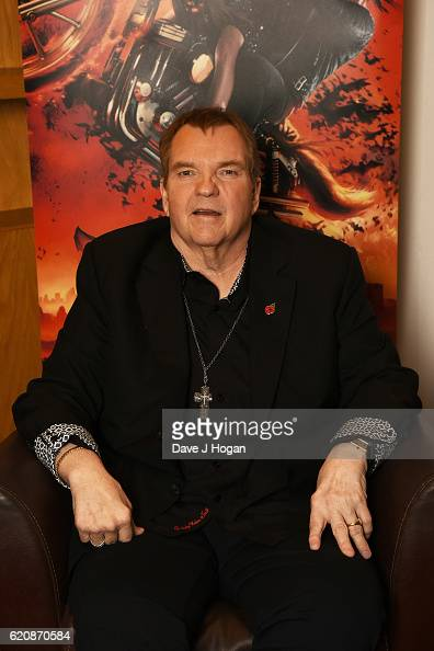 Meat Loaf poses for a portrait at the launch for Jim Steinman's 'Bat Out of Hell The Musical' at the London Coliseum on St Martin's Lane on November...