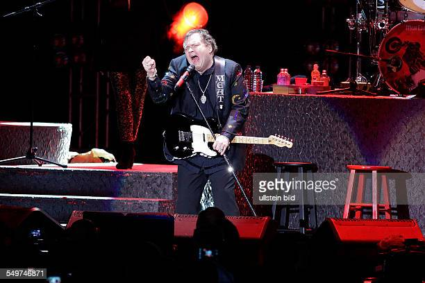 Meat Loaf Singer Rock USA performs April 28 in Berlin Germany at O2 World
