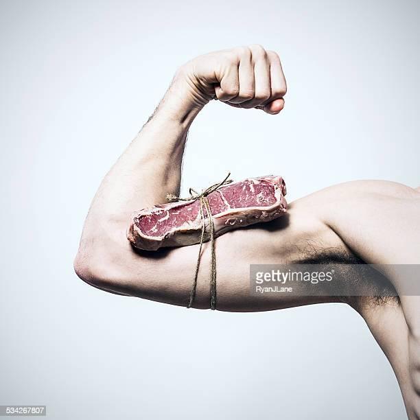 Carne muscolare uomo