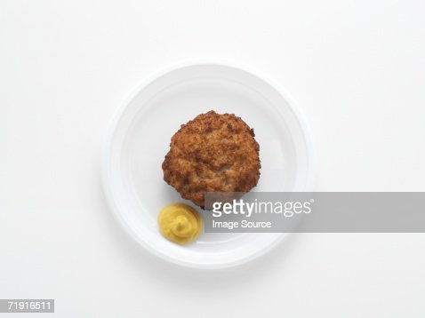 Meatball and mustard
