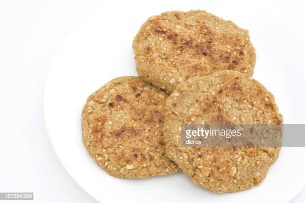meatless hamburger rondelles