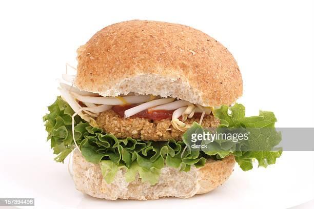 meatless Hamburger végétarien