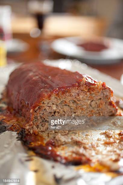 Meatloaf at the Dinne Table
