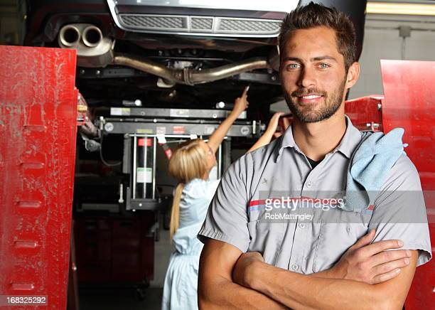 Mechanic at Autobody Shop