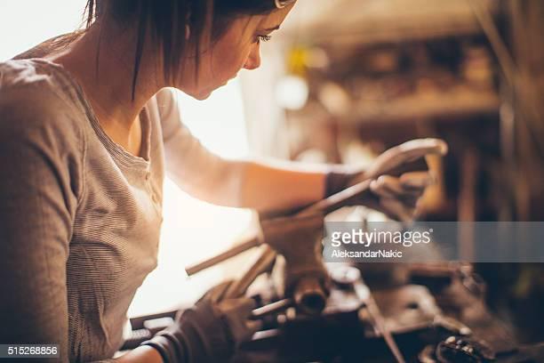 Mechanic girl