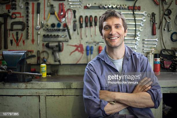 Mechanic, portrait