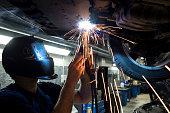 Mechanic welding