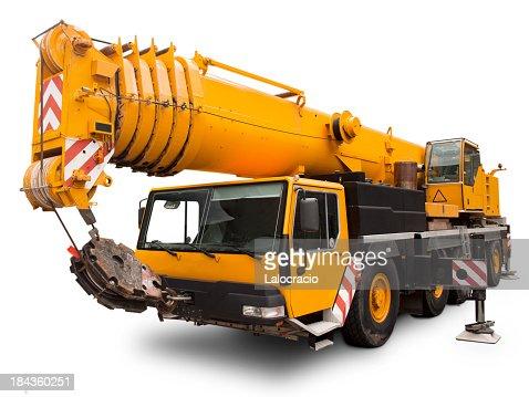 Mechanical crane Liebherr.